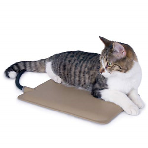 """K&H Pet Products Extreme Weather Kitty Pad Petite Tan 9"""" x 12"""" 25W"""