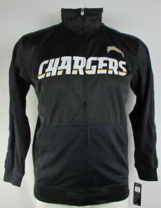 Los Angeles Chargers NFL Majestic Men's Big & Tall Full-Zip Jacket