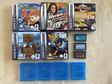 Nintendo Gameboy Game Boy Advance 8x Spiele + OVP + Anleitung / Sammlung