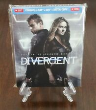 Divergent Future Shop Exclusive Steelbook with Unused Fake Tattoos. Blu-ray+DVD