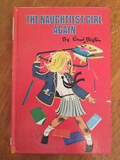 The Naughtiest Girl Again by Enid Blyton (Hardback, 1972) VGC