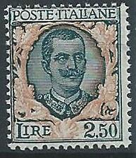 1926 REGNO FLOREALE 2,50 LIRE MNH ** - T145
