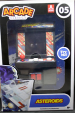New Atari Arcade Classics Asteroids Super Cute Working Miniature Arcade Game