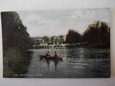 The Serpentine London Old Postcard
