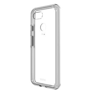 EFM Aspen D3O Case Armour suits Google Pixel 3 XL - Clear/White