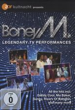 "BONEY M ""ZDF KULTNACHT LEGENDARY PERFORMANCES"" DVD"