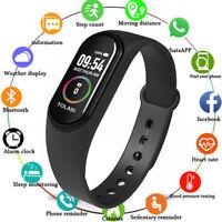 Pulsera Inteligente, Reloj Deportivo | [Similar Xiaomi Mi Band 4] [Batería Top]