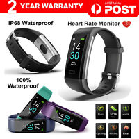 Bluetooth Smart Bracelet Fitbit Style Heart Rate Monitor Watch Pedometer Tracker