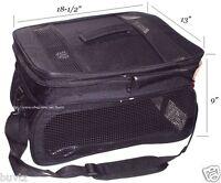 Pet Carrier DURABLE Large Cat / Dog Comfort Black Travel Carrier Tote Bag 50109K