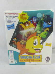 NEW - Freddi Fish and the Case of the Missing Kelp Seeds (PC, 1996) Sealed