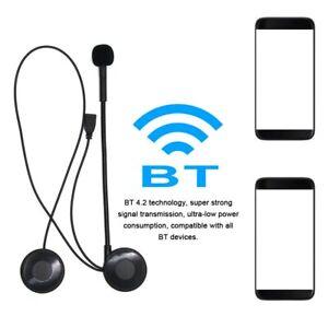 Bluetooth Helmet Headset Headphone Wireless Earphone For Motorcycle GPS SAT NAV