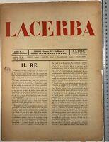 Futurismo Lacerba rivista anno III n 1 Firenze 1915