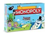 Monopoly Adventure Time Collector's Edition English Board Game Spiel Brettspiel