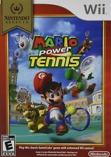 NINTENDO WII GAME MARIO POWER TENNIS NINTENDO SELECTS BRAND NEW & SEALED