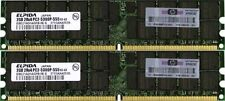 4GB (2x2GB) PC2-DDR2 5300P RAM MEMORY IBM X3850 M2 - IBM X3950 M2 - IBM X3610