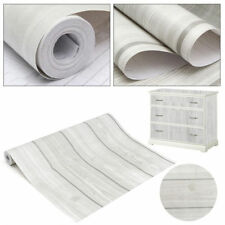 10m Wood Grain Peel&Stick Contact Paper Self-Adhesive Furniture Wall Film Paper