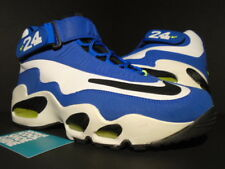 2009 NIKE AIR GRIFFEY MAX 1 ROYAL BLUE WHITE BLACK VOLT NEON 354912-411 9.5
