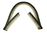 """Realistic Bullet Belt Bandolier Rifle Bullets Shells Soldier Military Toy 60"""""""