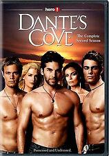 DANTE'S COVE/THE COMPLETE 2ND SEASON(NEW 2DVD SET)Nadine Heimann,Tracy Scoggins,