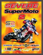 SEVERE SUPERMOTO 2 - Burkhart, Ward, Nicoll, Currie  - CLEARANCE - Supermoto DVD
