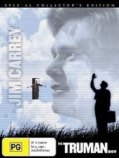 The Truman Show (1998) Jim Carrey - NEW DVD - Region 4
