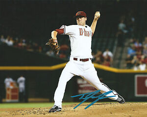 GFA Arizona Diamondbacks TYLER SKAGGS Signed 8x10 Photo T3 COA PROOF