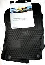 2007 to 2009 Mercedes ML320 Rubber Floor Mats - GENUINE FACTORY OEM ITEM - BLACK