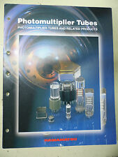 Photomultiplier Tubes and related products datasheets HAMAMATSU (115p) June 2002