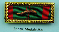Vietnam Civil Actions Unit Citation Ribbon palm & large frame Army 744rlf