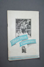 1928 Zeiss Ikon Catalog, with price lists for 1929 and 1939
