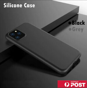 Silicone Soft Shockproof Back Case Cover For iPhone 12 11 Pro XS MAX X XR 7 Plus