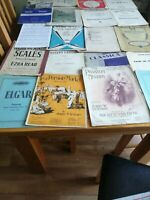 Job Lot Vintage Old Sheet Music -20 Total £10 buy now postage £6