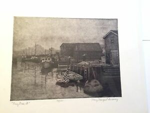 """""""EASY DOES IT"""" LIMITED EDITION ETCHING BY MARY MARGARET SWEENEY"""