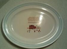 "Ralph Lauren ""Sampler"" Wedgwood Serving Platter Made In England 1989"