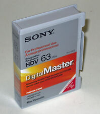 Sony Digital Master PHDVM-63DM Mini DV HDV DVCAM tape camcorder HD201E HD101E HD