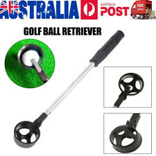 2M Scoop Telescopic Golf Ball Retriever Pick Up Tool Stainless Steel Saver Shaft