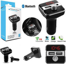 Bluetooth 5.0 Wireless Handsfree Car FM Transmitter MP3 Player 2 USB Charger Kit