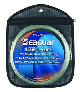 Seaguar Blue Label Big Game Fluorocarbon Leader--33 Yards--Pick Line Class