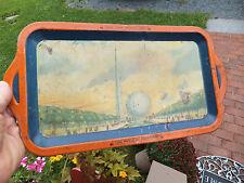 1939 1940 NY New York Worlds Fair Memorabilia Souvenir Tray World of Tomorrow