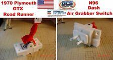 70 Plymouth Road Runner GTX Air Grabber Control Dash Vacuum Switch New MoPar