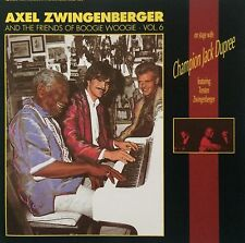 AXEL ZWINGENBERGER AND THE FRIENDS OF BOOGIE WOOGIE - VOL. 6 - ON STAGE WITH CHA