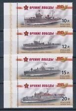 Briefmarken aus Russland & der Sowjetunion mit Schiffs -/Boots-Motiv als Satz