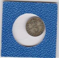 3 pence Grobritannien 1921 Georg V Great Britain Silber