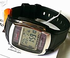 Genuine Casio Tough Solar DB-E30-1A 5 Alarm World Time Digital Resin Man's Watch