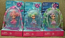 BARBIE FAIRYTOPIA MERMAIDIA SEA PIXIE NECKLACE PINK BLUE PURPLE *NEW*