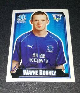 Wayne Rooney #226 Everton Rookie football Sticker- Merlin Premier League 2003 03