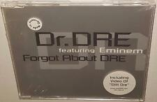 DR DRE FEAT. EMINEM FORGOT ABOUT DRE (2000) BRAND NEW  SEALED RARE CD SINGLE