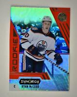 2020-21 UD Synergy Red Bounty Code Rookie #121 Ryan McLeod RC - Edmonton Oilers