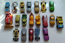 Lot Hot Wheels 20 Cars Trucks Diecast Toys loose used Matchbox hotwheels vtg