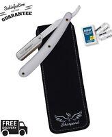 Barber Salon Straight Cut Throat Shaving Razor Shavette RASOIRS RASOI 10 Blades